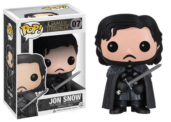 Game Of Thrones Bobble Head Pop 07 Jon Snow Funko