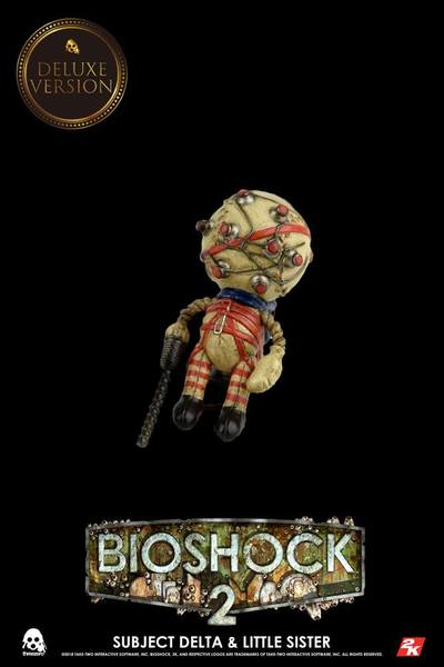 BioShock pack 2 figurines Subject Delta & Little Sister Deluxe Version ThreeZero