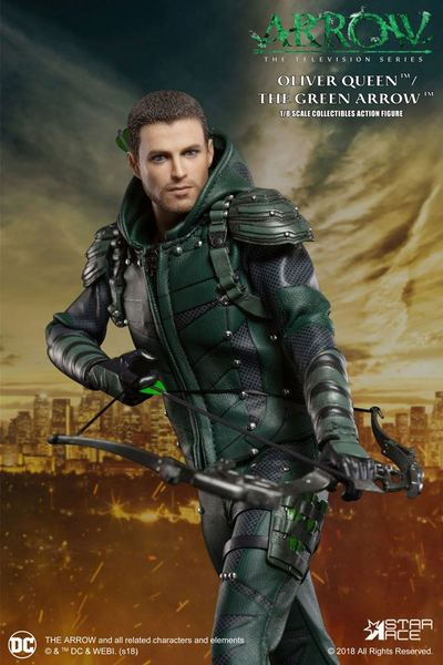 Arrow figurine Real Master Series Green Arrow Deluxe Version Star Ace