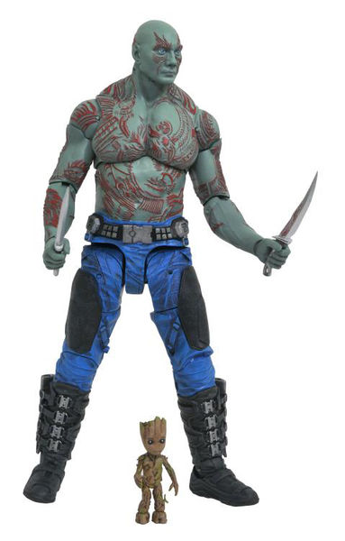Les gardiens de la galaxie 2 Marvel Select figurine Drax & Baby Groot Diamond Select