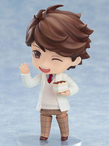Haikyu!! figurine Nendoroid Toru Oikawa School Uniform Orange Rouge EPUISE
