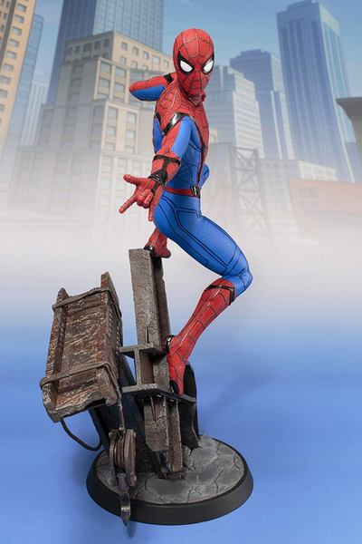 Spider-Man Homecoming statue ARTFX Spiderman Kotobukiya