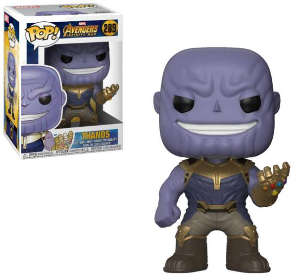 Avengers Infinity War POP! Movies 289 figurine Thanos Funko
