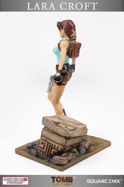 Tomb Raider statue 20th Anniversary Series Lara Croft Gaming Heads