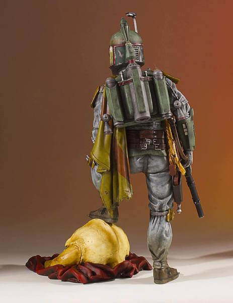Star Wars statue Collectors Gallery Boba Fett Gentle Giant
