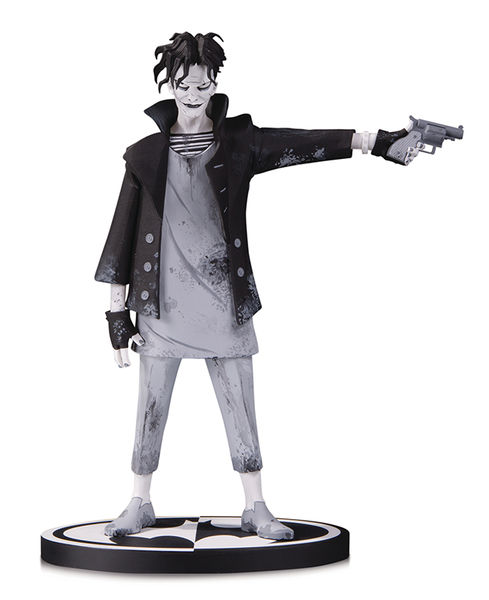 Batman Black & White statue The Joker by Gerard Way DC Collectibles