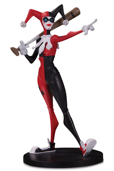 DC Artists Alley Figurine Harley Quinn by Hainanu Nooligan Saulque DC Collectibles