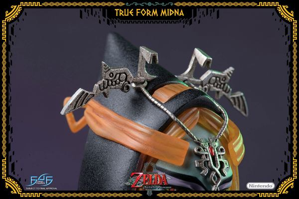 The Legend of Zelda Twilight Princess statue True Form Midna First 4 Figures F4F