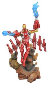 Avengers Infinity War Marvel Movie Gallery statue Iron Man MK50 Diamond Select