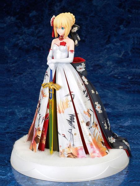 Fate/Stay Night statue Saber Kimono Dress Alter