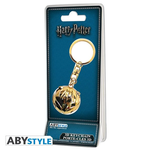 Harry Potter Porte-clés 3D Vif d'or Abystyle
