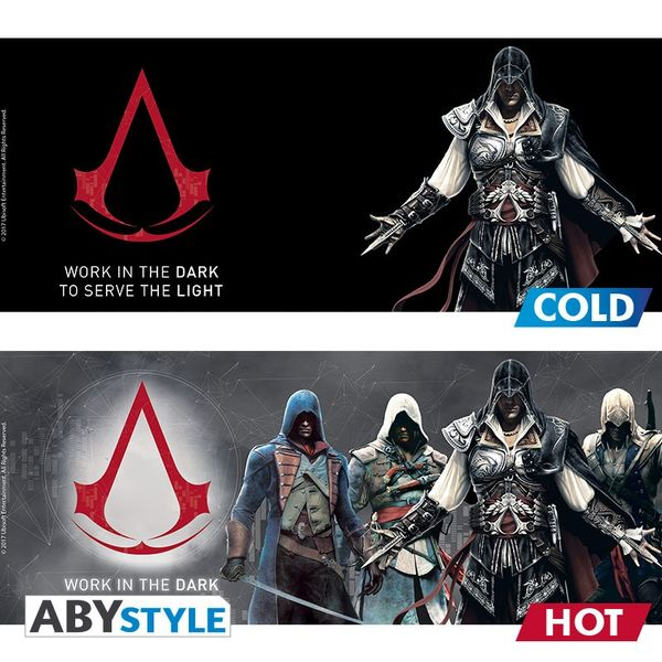 Assassin's Creed Mug Heat Change 460 ml Groupe Abystyle