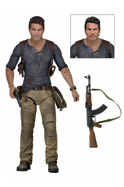 Uncharted 4 figurine Ultimate Nathan Drake Neca
