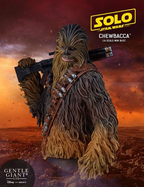 Star Wars Solo buste Chewbacca Gentle Giant