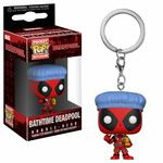 Deadpool Playtime porte-clés Pocket POP Deadpool Bathtime Funko