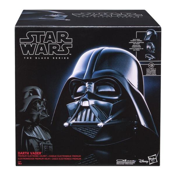 Star Wars Black Series casque électronique premium Darth Vader Hasbro