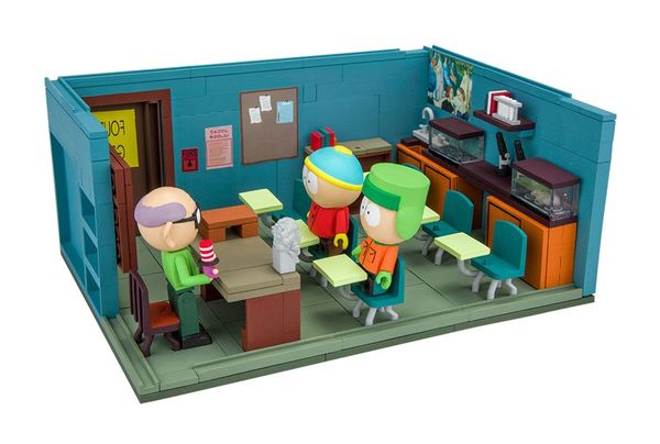 South Park jeu de construction Large Mr. Garrison's Classroom McFarlane