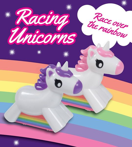 Unicorn pack 2 voitures à friction Racing Licornes