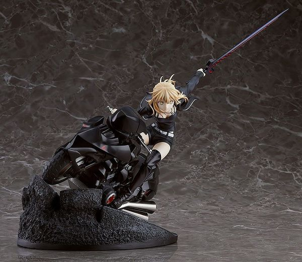 Fate/Grand Order statue Saber/Altria Pendragon (Alter) & Cuirassier Noir Good Smile