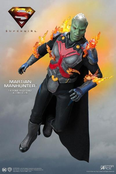 Supergirl figurine Real Master Series The Martian Manhunter Deluxe Star Ace