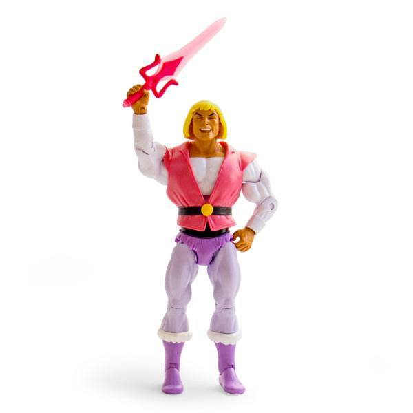 He-Man and the Masters of the Universe figurine Laughing Prince Adam Super 7 MOTU Musclor Exclu EPUISE