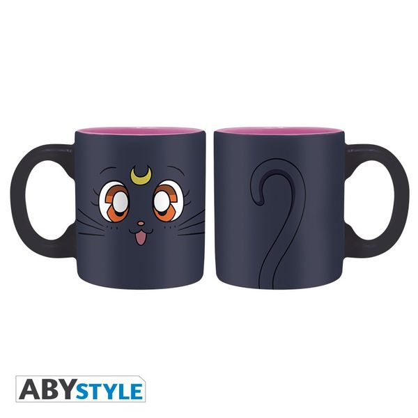 Sailor Moon Set 2 mini-mugs 110 ml Luna & Artemis Abystyle