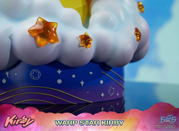 Kirby statue Warp Star Kirby First 4 Figures F4F