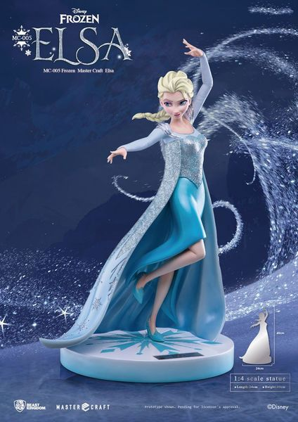 La Reine des neiges statue Master Craft Elsa of Arendelle 45 cm Beast Kingdom