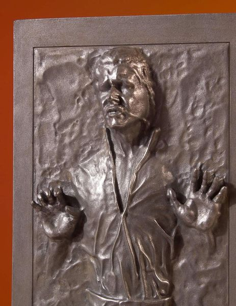 Star Wars statue Collectors Gallery Han Solo in Carbonite Gentle Giant