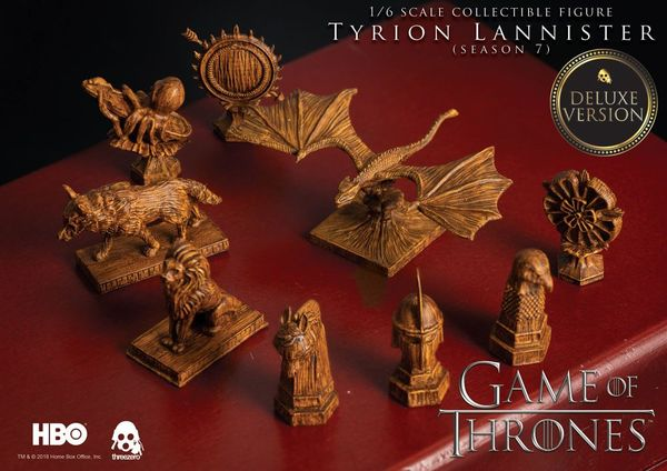 "Game of thrones figurine Tyrion Lannister Deluxe Version 22 cm 12"" ThreeZero"