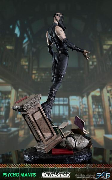 Metal Gear Solid statue Psycho Mantis First 4 Figures F4F