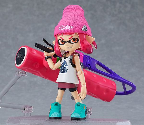 Splatoon / Splatoon 2 figurines Figma Splatoon Girl Good Smile