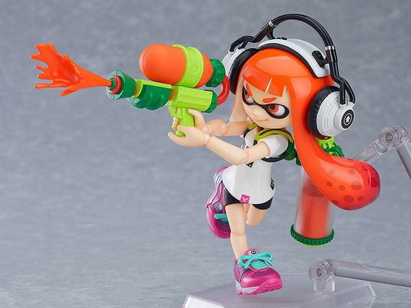 Splatoon figurine Figma Splatoon Girl Good Smile
