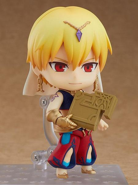 Fate/Grand Order figurine Nendoroid Caster/Gilgamesh Orange Rouge