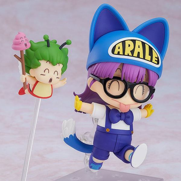 Dr. Slump figurine Nendoroid Arale Norimaki Cat Ears Ver. & Gatchan Good Smile
