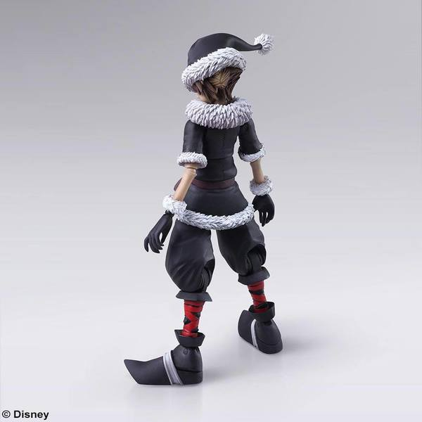 Kingdom Hearts II Bring Arts figurine Sora Christmas Town Square Enix