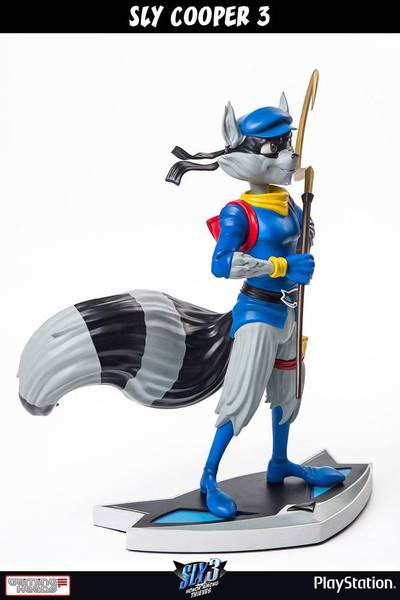 Sly Cooper 3 statue Sly Cooper Classic First 4 Figures
