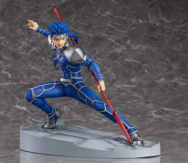 Fate/Grand Order statue Lancer/Cu Chulainn Orange Rouge