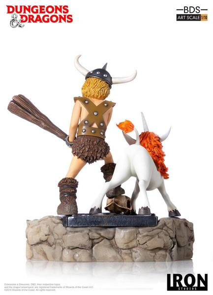 Dungeons & Dragons Le Sourire du dragon statue BDS Art Scale Bobby The Barbarian & Uni Iron Studios
