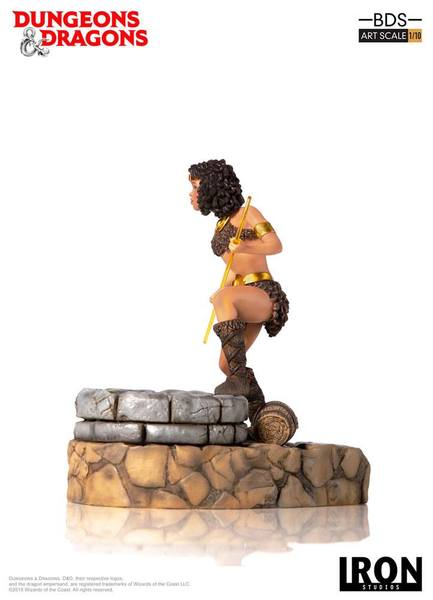 Dungeons & Dragons le sourire du dragon statue BDS Art Scale Diana The Acrobat Iron Studios