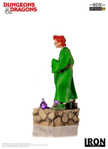 Dungeons & Dragons le sourire du dragon statue BDS Art Scale Presto The Magician Iron Studios