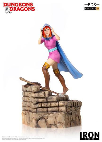 Dungeons & Dragons le sourire du dragon statue BDS Art Scale Sheila The Thief Iron Studios