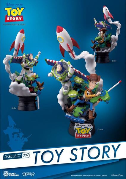 Toy Story diorama D-Select Beast Kingdom
