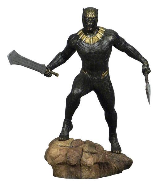 Black Panther Movie Marvel Gallery statue Killmonger Diamond Select