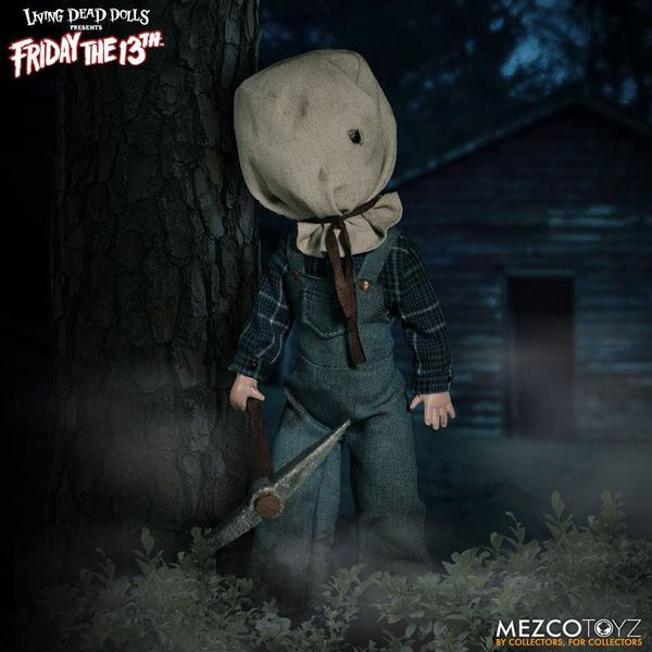 Vendredi 13 Living Dead Dolls poupée Jason Voorhees Friday 13th Mezco