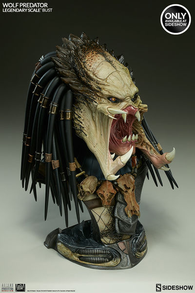 Wolf Predator Buste Legendary Scale Exclusif Sideshow