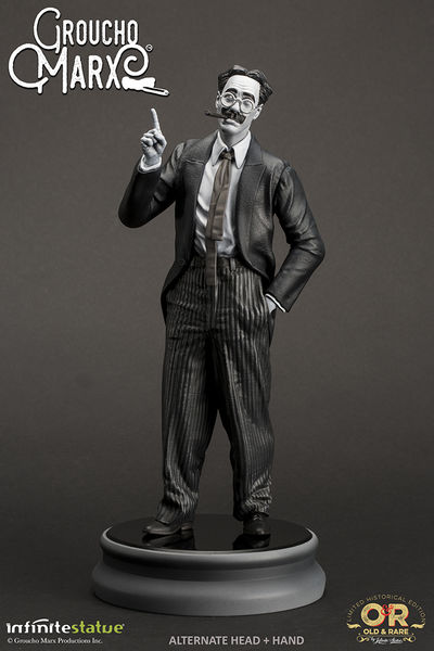 Groucho Marx Old & Rare Statue Infinite
