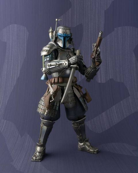 Star Wars figurine Meisho Movie Realization Ronin Jango Fett Bandai