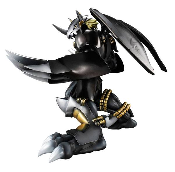 Digimon Adventure G.E.M. Series statue Black Wargreymon Megahouse