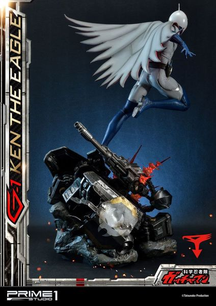 Science Ninja Team Gatchaman statue G-1 Ken the Eagle 73 cm Prime 1 Studio